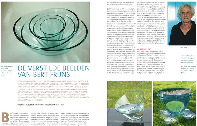 'Glass' No. 2/2018 | Bert Frijns